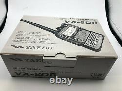 Yaesu VX 8DR Heavy Duty Submersible Radio Transceiver 50/144/430MHz