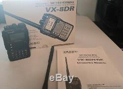 Yaesu VX-8DR Tri-Band 50/144/430MHz Handheld Transceiver + ACCESSORIES