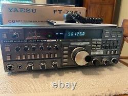Yaesu ft-736r 50Mhz-144Mhz-220Mhz-432Mhz