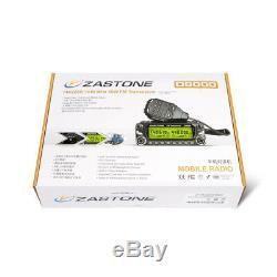 Zastone ZT-D9000 Car Radio 50W 136-174 400-520Mhz Two Way Mobile Radio Whole Set